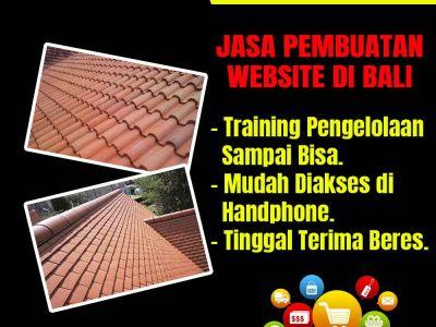Jasa Pembuatan Website Usaha Genteng Terakota di Bali