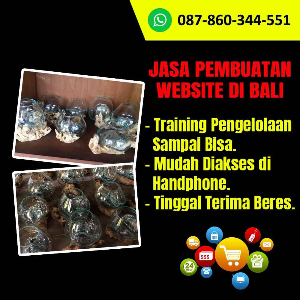 Jasa Pembuatan Website Kerajinan Bowl Kaca di Bali