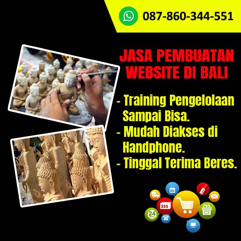 Jasa Pembuatan Website Kerajinan Patung Buddha Bali