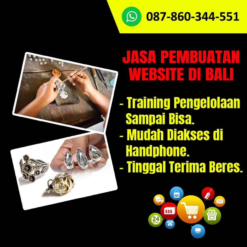Jasa Pembuatan Website Kerajinan Perhiasan Emas di Bali