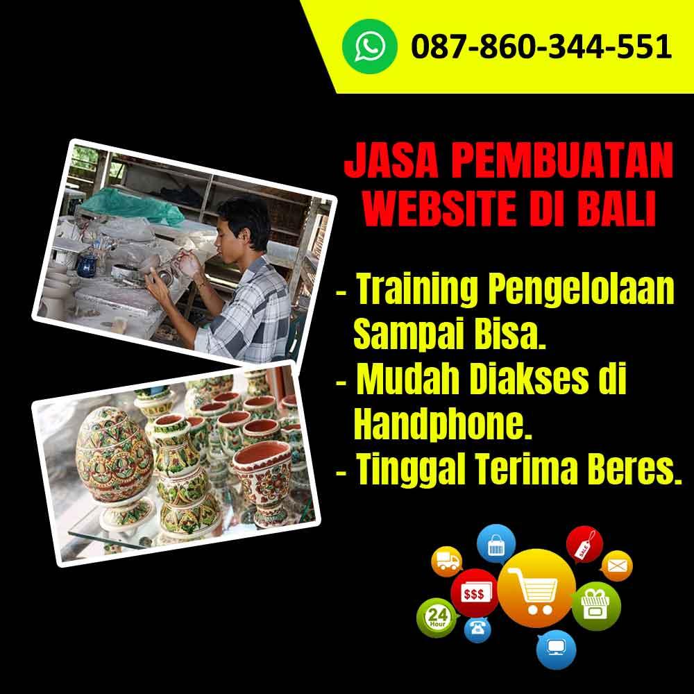 Jasa Pembuatan Website Kerajinan Pot Keramik di Bali