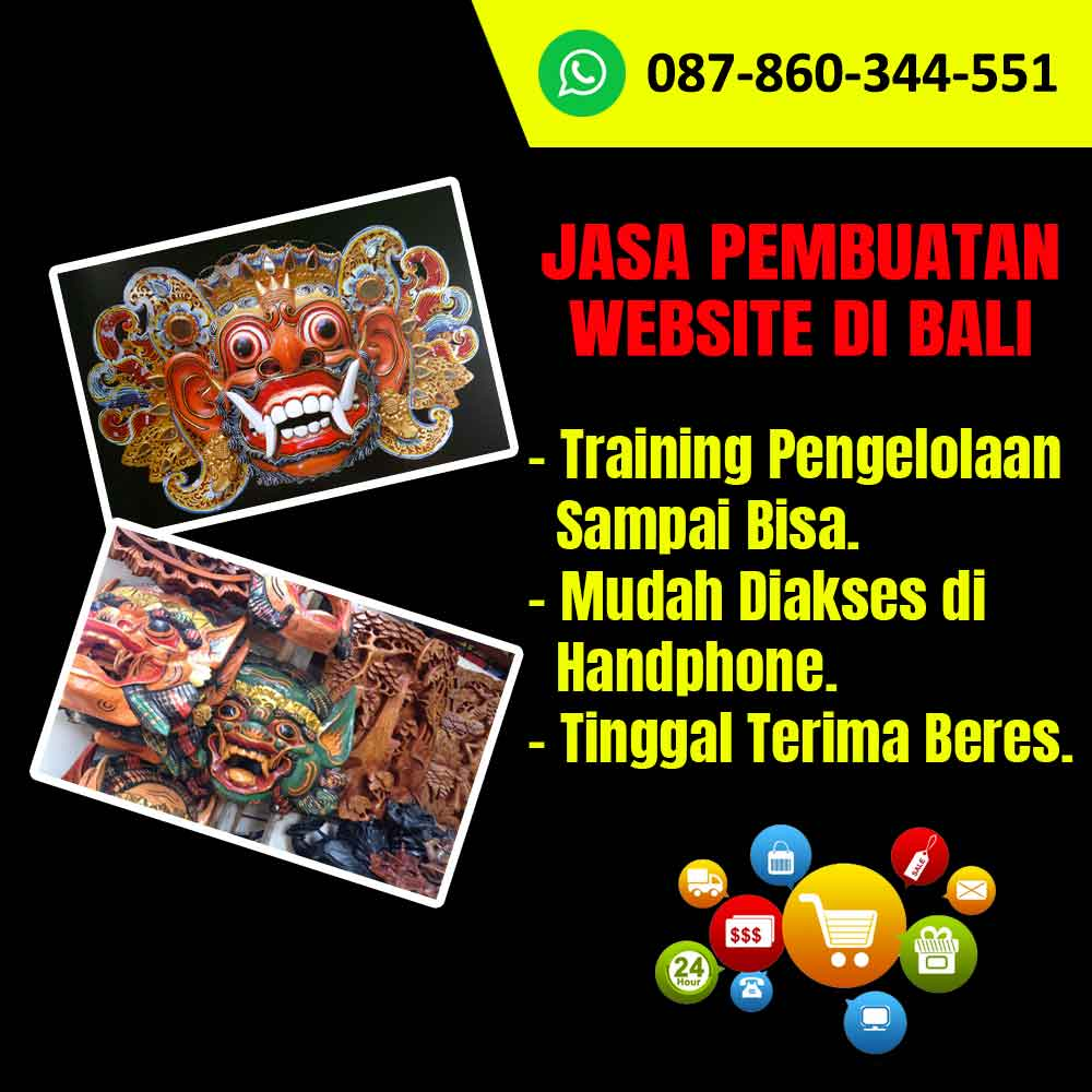 Jasa Pembuatan Website Untuk Kerajinan Topeng di Bali