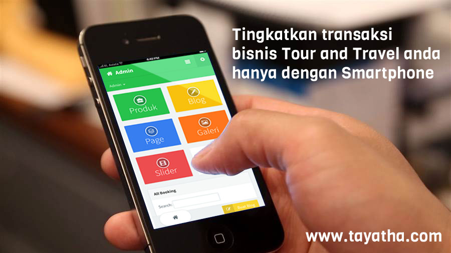 Website Tour and Travel di Bali