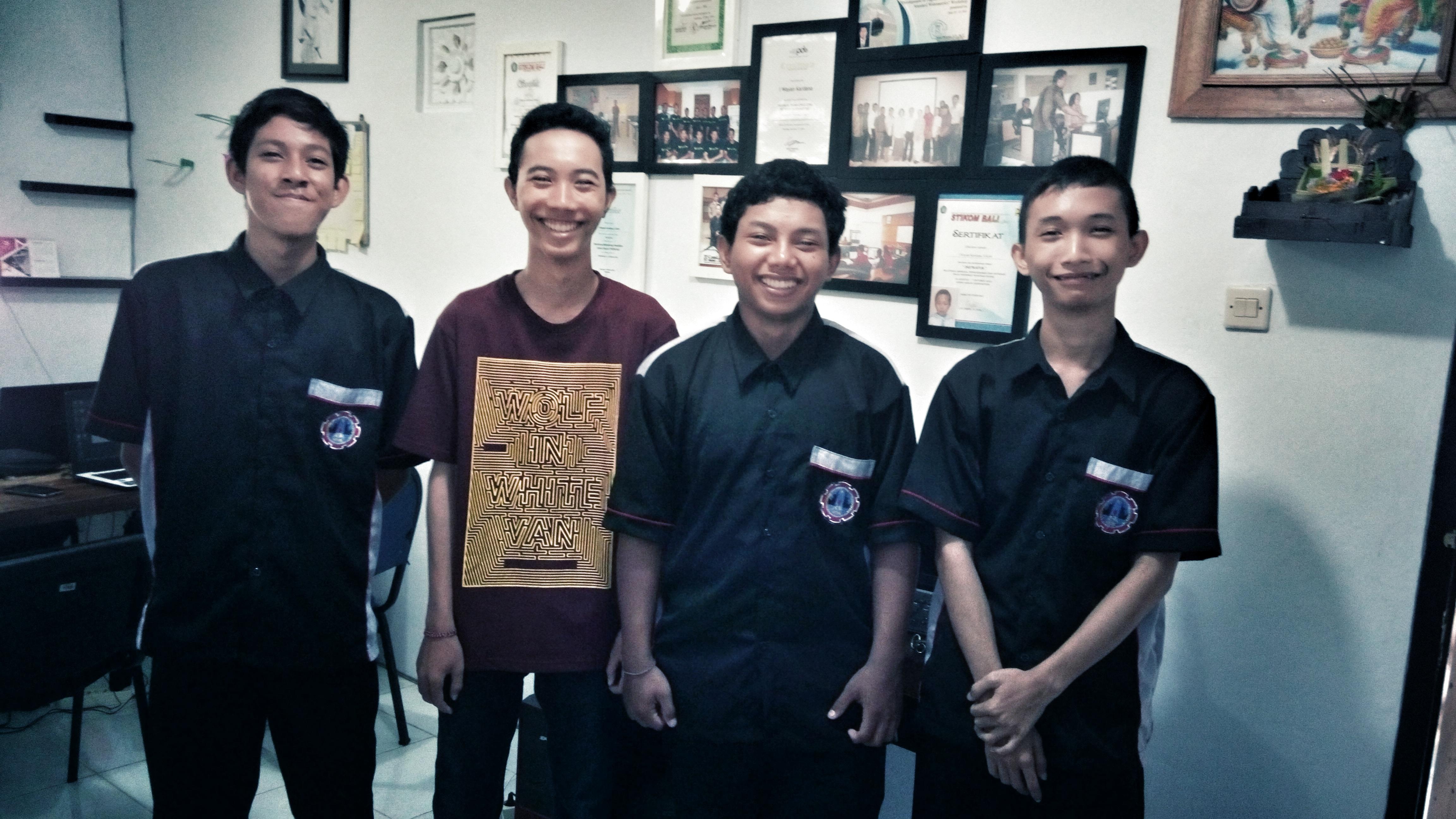 Selamat datang siswa praktek kerja industri SMKN 1 Mas Ubud