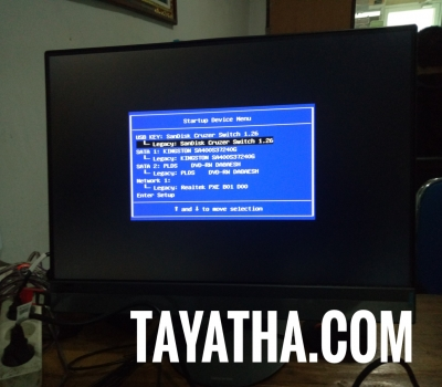 Cara Masuk Boot Device / Bios AIO Lenovo 520