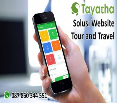 Jasa Pembuatan website tour travel di TAYATHA WEB DESIGN