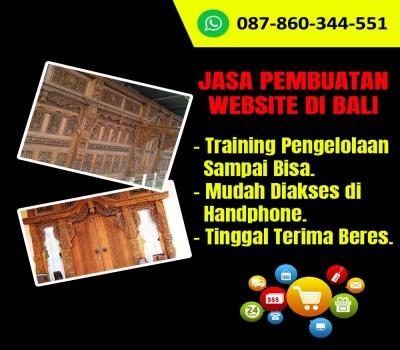 Jasa Pembuatan Website Kerajinan Gebyok Kayu di Bali
