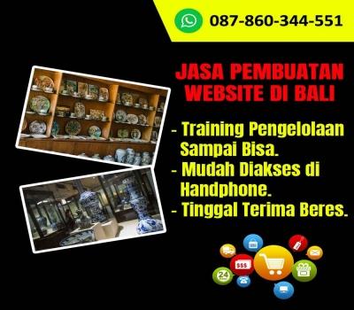 Jasa Pembuatan Website Kerajinan Keramik Di Bali