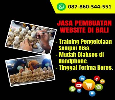 Jasa Pembuatan Website Kerajinan Miniatur Patung Bali