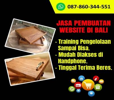 Jasa Pembuatan Website Kerajinan Nampan Kayu di Bali