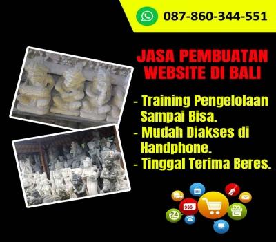 Jasa Pembuatan Website Kerajinan Patung Batu Paras Bali