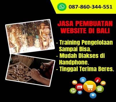 Jasa Pembuatan Website Kerajinan Patung Kayu di Bali