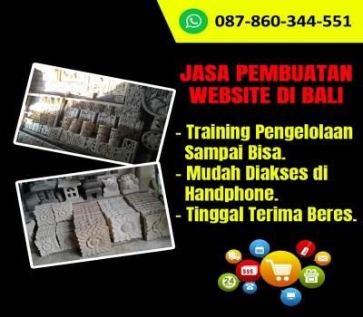 Jasa Pembuatan Website Kerajinan Relief Batu Paras di Bali