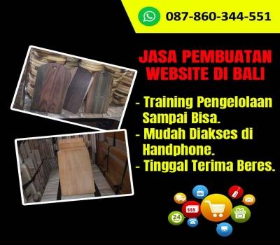Jasa Pembuatan Website Kerajinan Talenan Kayu di Bali