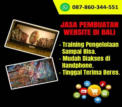 Jasa Pembuatan Website Kerajinan Wayang Kulit Di Bali