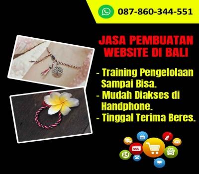 Jasa Pembuatan Website Toko Gelang Handmade Di Bali