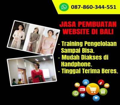 Jasa Pembuatan Website Toko Kebaya Bali