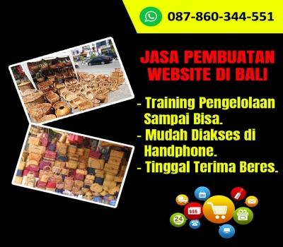 Jasa Pembuatan Website Toko Keranjang Rotan di Ubud