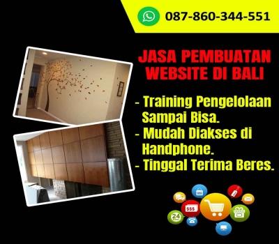 Jasa Pembuatan Website Toko Wall Sticker di Bali