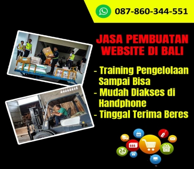 Jasa Pembuatan Website Untuk Cargo di Bali