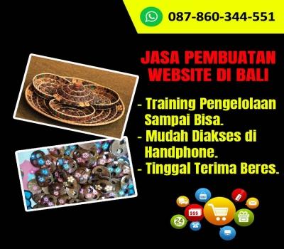 Jasa Pembuatan Website Untuk Kerajinan Batok Kelapa di Bali