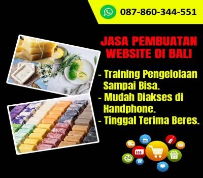 Jasa Pembuatan Website Usaha Sabun Homemade Di Bali