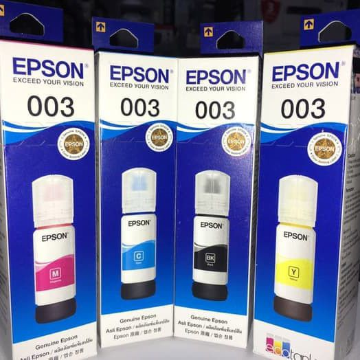 Tinta Epson 003 Original Printer L5190 L3150 L3110 L1110 L3100 L3101